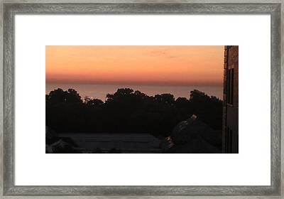 Morning View Framed Print by Hope Williamson