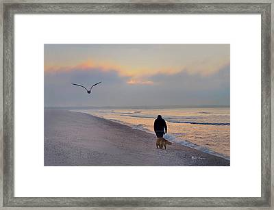 Morning Walk Framed Print by Bill Cannon