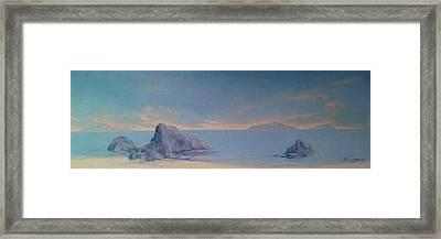 Morning Waters Framed Print by Paul Morgan