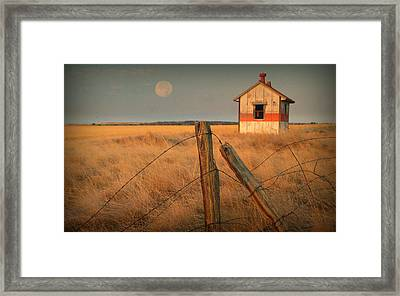 Mornings Calm Framed Print by Al  Swasey