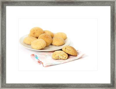Moroccan Biscuits Framed Print by Tom Gowanlock