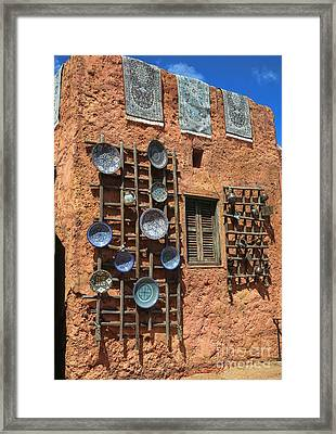 Moroccan Marketplace Framed Print