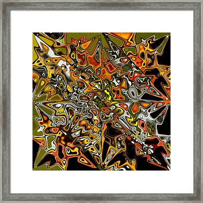 Framed Print featuring the painting Moroccan Roll by Jann Paxton