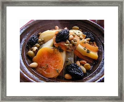Moroccan Tagine Framed Print by Alexandra Jordankova