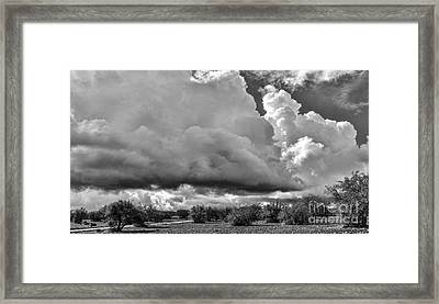 Morocco Clouds Framed Print by Chuck Kuhn