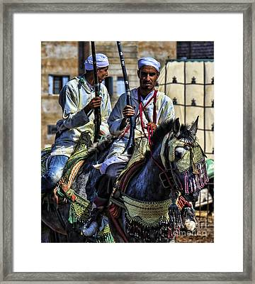Morocco Dual Framed Print by Chuck Kuhn
