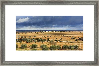 Morocco Landscape IIi Framed Print by Chuck Kuhn