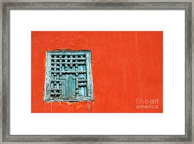 Framed Print featuring the photograph Morocco by Milena Boeva