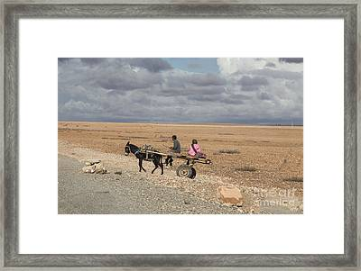 Morocco Transportation Framed Print by Chuck Kuhn