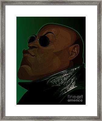 Morpheus Framed Print by Kevin Greene