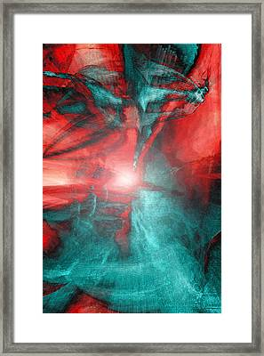 Morphing Thru Time Framed Print by Linda Sannuti