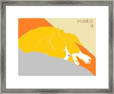 Morris Framed Print