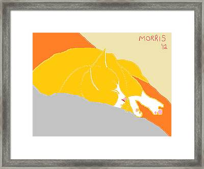 Morris Framed Print by Anita Dale Livaditis