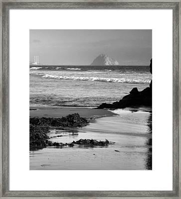Morro Bay Shoreline V Framed Print by Steven Ainsworth