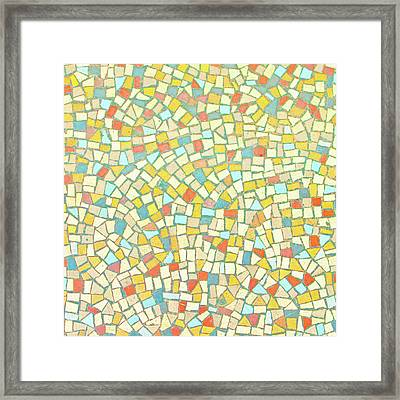 Mosaic Background Framed Print