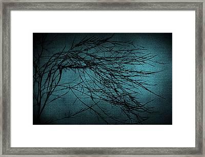 Mosaic Branch Framed Print