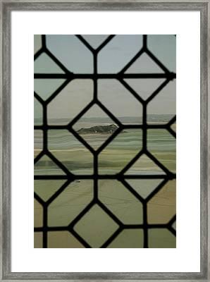 Framed Print featuring the photograph Mosaic Island by Marta Cavazos-Hernandez