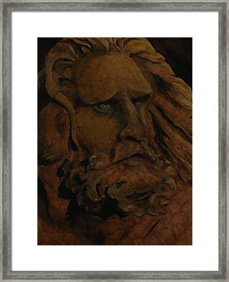 Moses Framed Print by Sherry Robinson