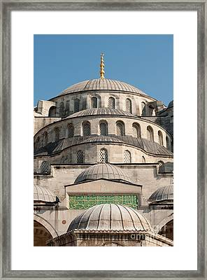 Framed Print featuring the photograph Mosque by Andrew  Michael