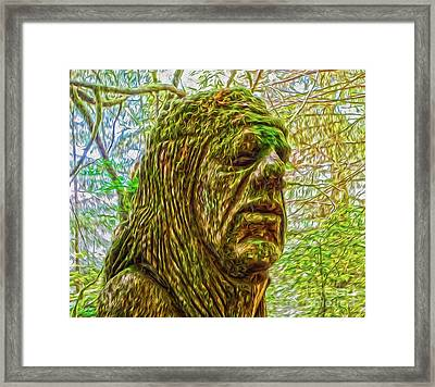 Moss Man Framed Print by Gregory Dyer