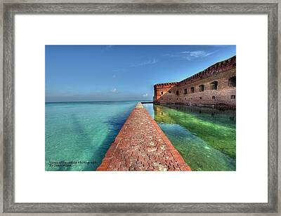 Mote Wall Walk Framed Print