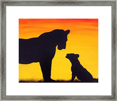 Mother Africa 3 Framed Print by Michael Cross