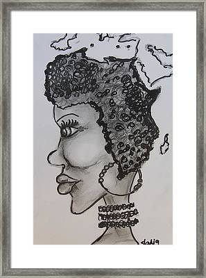 Mother Africa Framed Print