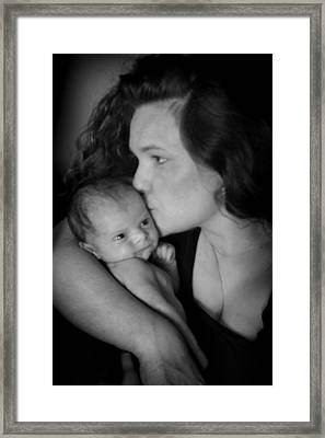 Framed Print featuring the photograph Mother And Child by Kelly Hazel