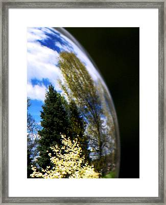 Mother Earth Framed Print by Angela Davies
