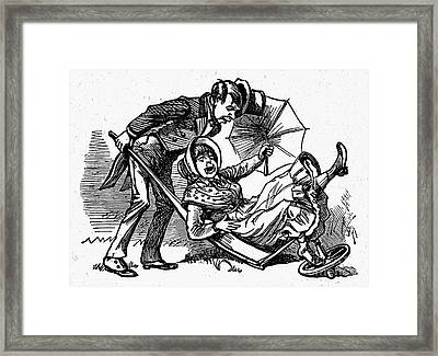 Mother Goose: Wife Framed Print