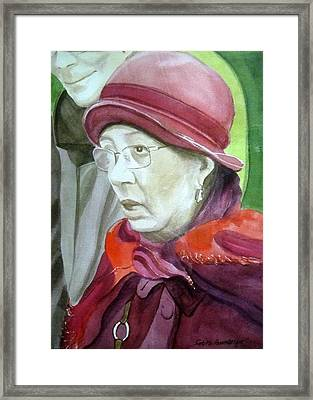 Mother Of The Accused Framed Print