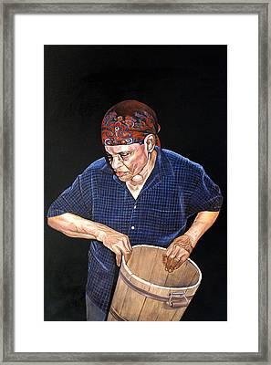 Mother Witt Framed Print by Curtis James
