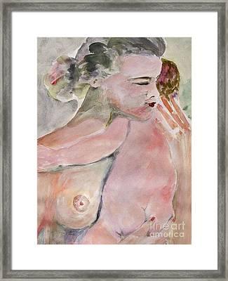 Motherhood   Framed Print by Ginette Callaway
