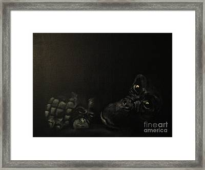 Motherhood Framed Print by Annemeet Hasidi- van der Leij