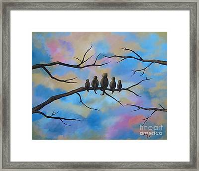 Motherhood Framed Print by Stacey Zimmerman