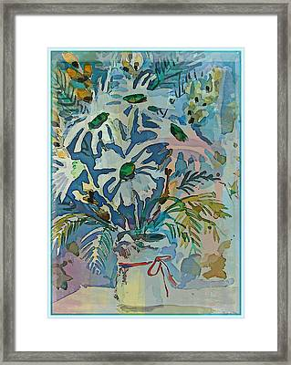Mothers Daise Framed Print by Mindy Newman