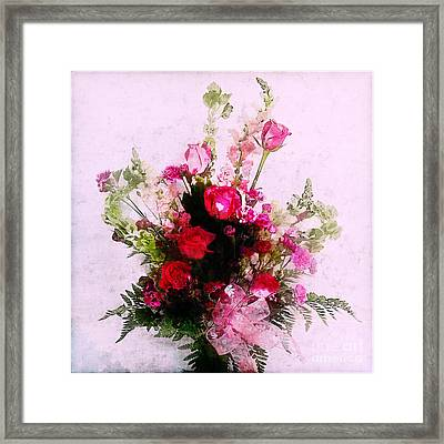 Mother's Day Flowers Framed Print by Judi Bagwell