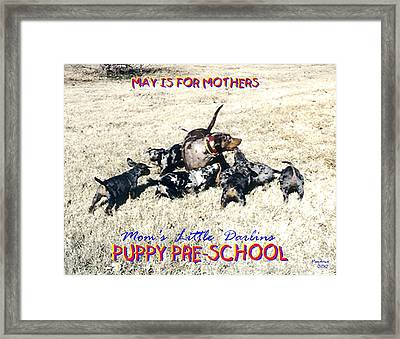 Mother's Day Framed Print by Poni Trax