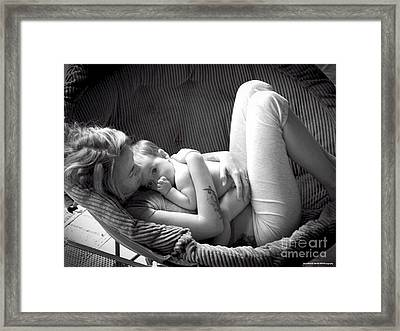 Mothers Love Framed Print by Laurence Oliver