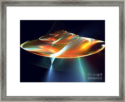 Mothership Framed Print