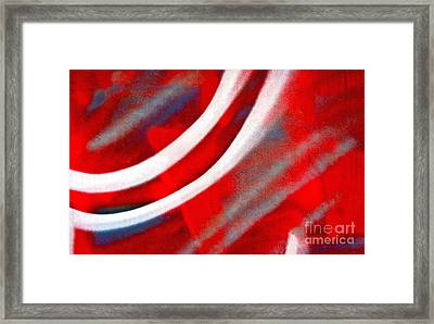 Framed Print featuring the photograph Motion by Joan McArthur