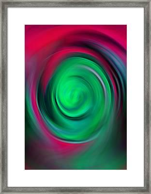 Motion Framed Print by Steve K