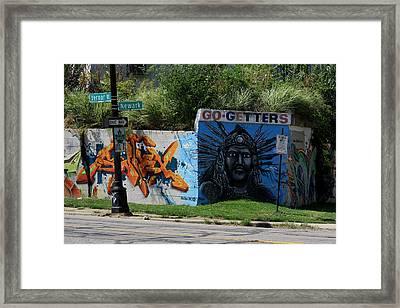 Motor City Art Framed Print by Dennis Pintoski
