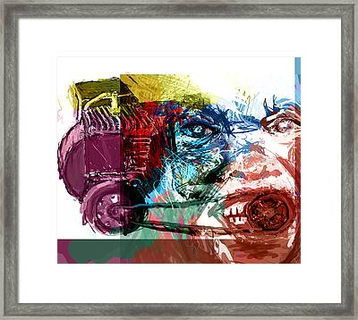 Motor Mouth Framed Print by James Thomas