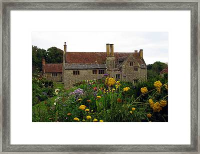 Mottiston Manor Framed Print by Carla Parris