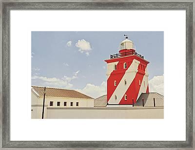 Mouille Point Lighthouse Framed Print