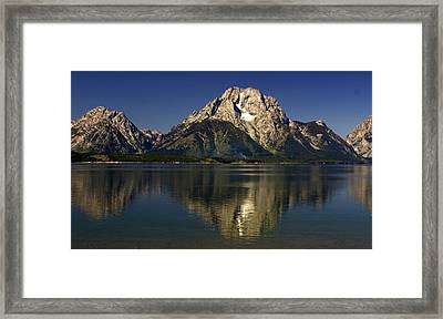 Framed Print featuring the photograph Moujnt Moran 5 by Marty Koch