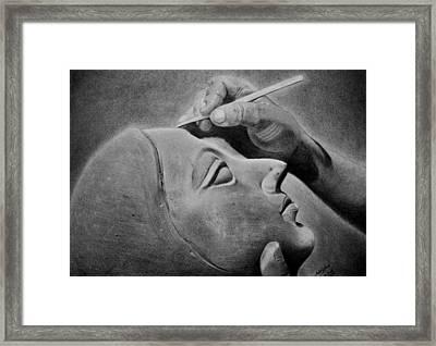 Moulding Mud.. Framed Print by Adrish Poddar