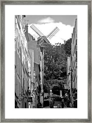 Moulin De Montmartre Framed Print
