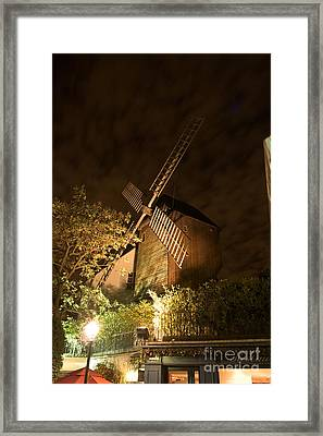 Moulin Du Radet By Night Framed Print